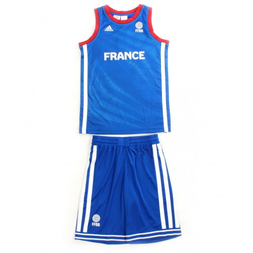 Adidas Performance Mini Kit Enfant Basketball France FFBB