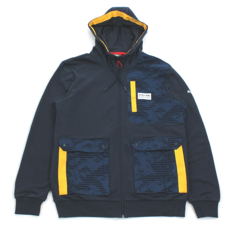 RBR HOODED SWEAT JACKET