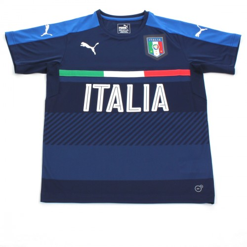FIGC ITALIA TRAINING JERSEY PEACOT