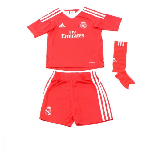 Mini kit Gardien de but Real Madrid Extérieur