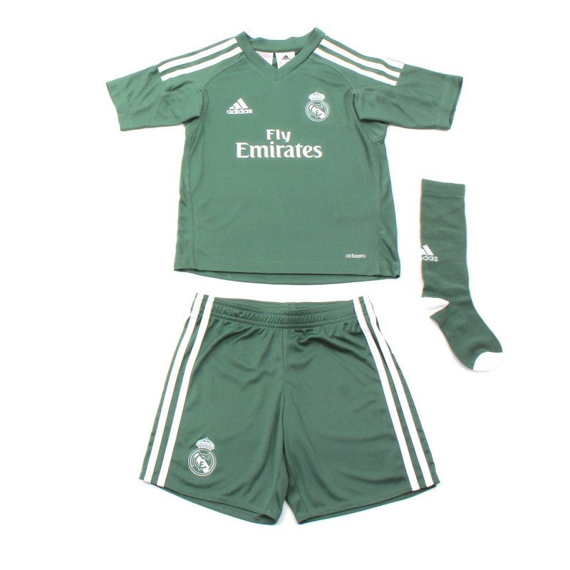 Mini kit Gardien de but Real Madrid Domicile