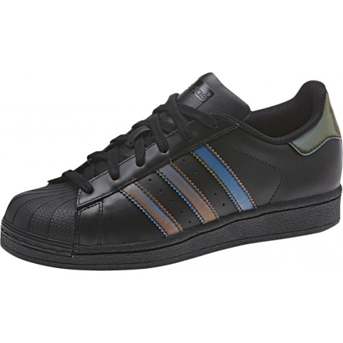Superstar Black Iridescent Junior