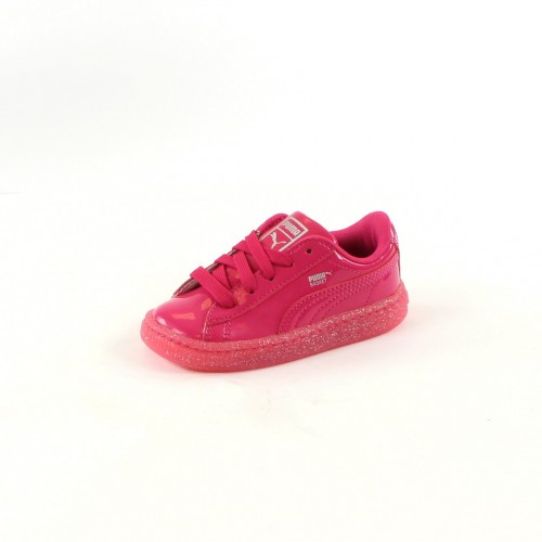 Basket Patent Iced Glitter INF