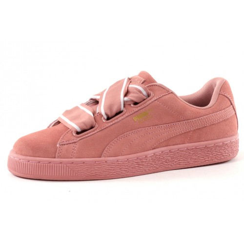 WNS Suede Heart Satin II