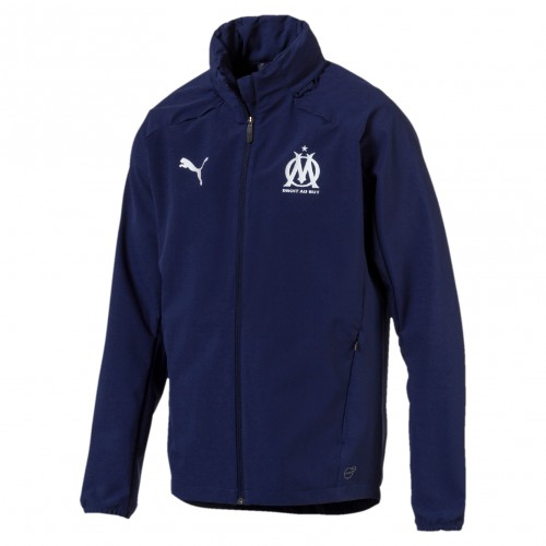 Olympique de Marseille Hooded Rain Top