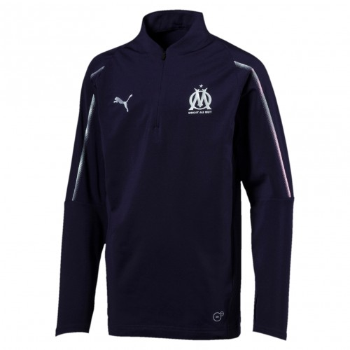 Olympique de Marseille 1/4 Zip Top Kid