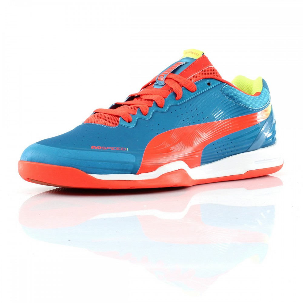 chaussures handball evospeed indoor 1 2 puma 10285003 ebay. Black Bedroom Furniture Sets. Home Design Ideas