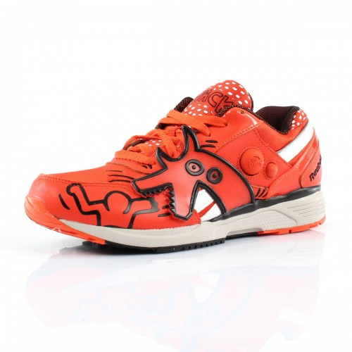 "Pump Running Dual - Keith Haring ""Blazing Orange"""